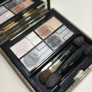 Kao Est Eyeshadow Palette Blue Shimmer Japanese